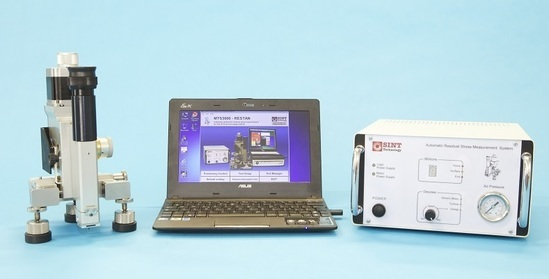 MTS3000-Restan system for hole drilling residual stress measurements