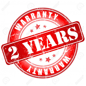 Extended warranty on the system and its accessories - 2 Year.