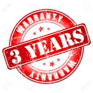 Extended warranty on the system and its accessories - 3 Year.